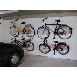 Support de vélo mural compatible antivol