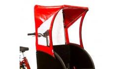 Protection soleil pour rickshaw
