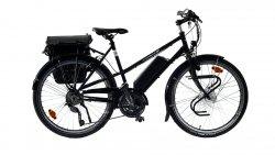 Vélo électrique Quartz Trapez noir 51 cm